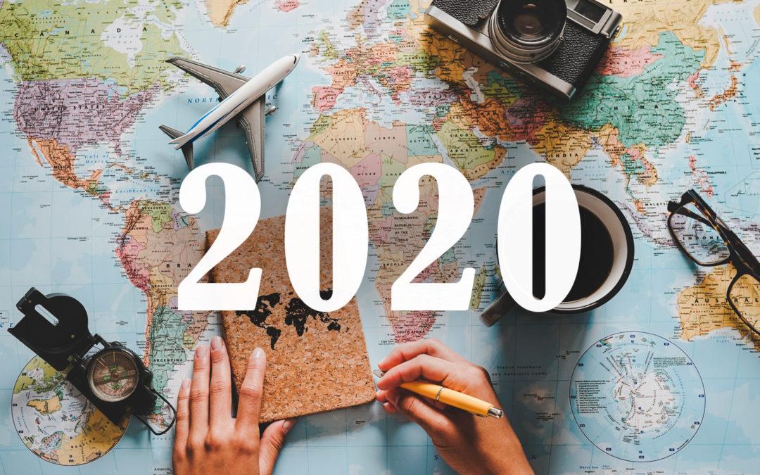 Tendencias en viajes para 2020